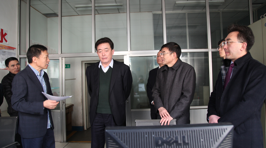 县委书记皮台田来我公司调研指导工作