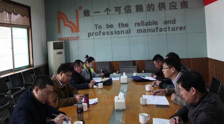 """县安监局组织专家组来公司开展""""三评级一评价""""工作"""