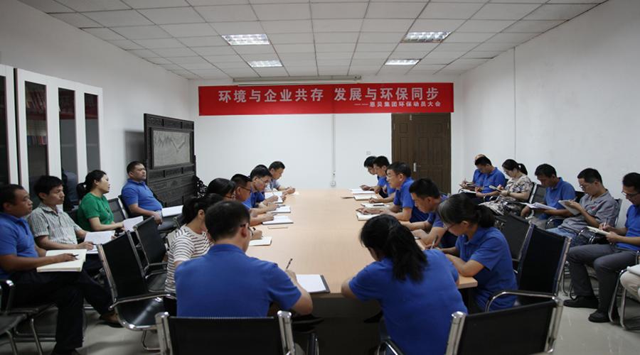 集团公司召开环保工作动员大会